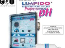 guide electrolyseur limpido PH